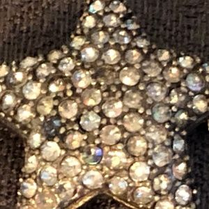 Rhinestone Star Brooch/pin